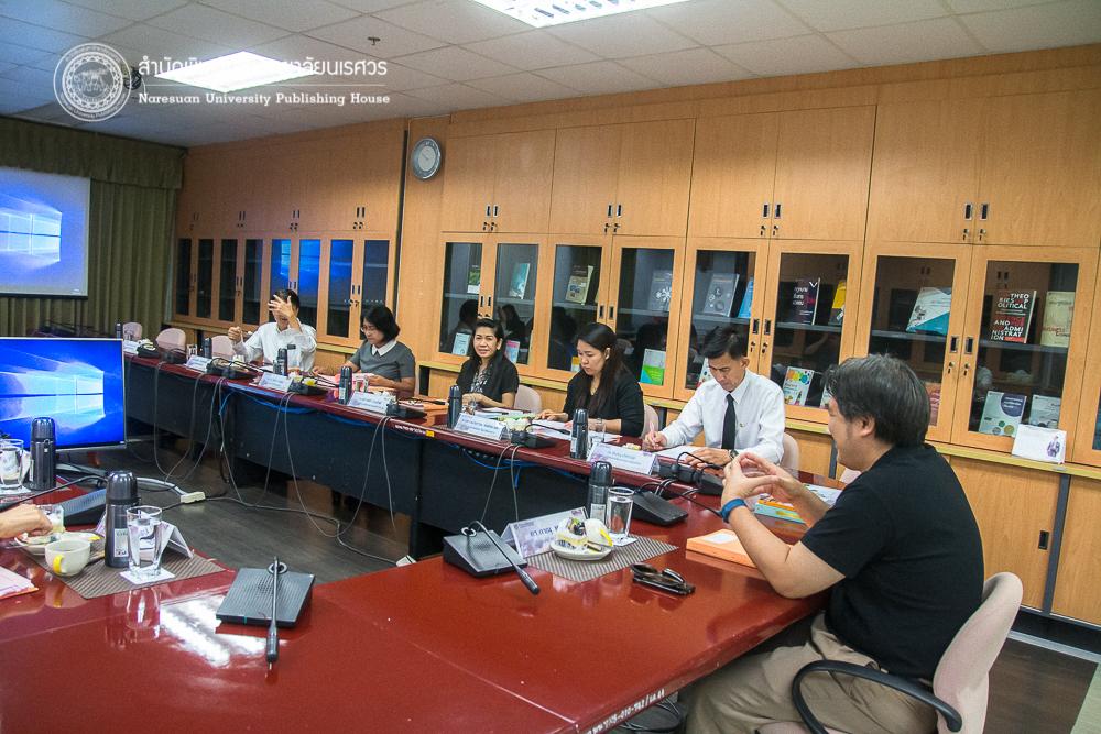 ประชุมกองบรรณาธิการ การจัดทำเอกสารสิ่งพิมพ์ทางวิชาการ ครั้งที่ 3/2560ร